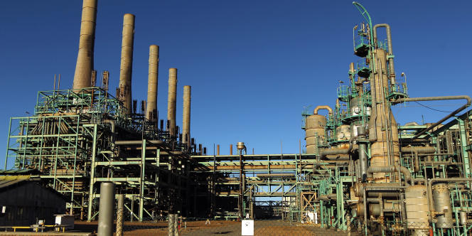 Terminal pétrolier de Ras Lanouf, en Libye.
