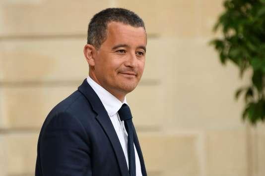 Le ministre de l'action et des comptes publics, Gérald Darmanin, au palais de l'Elysée le 11 juillet.