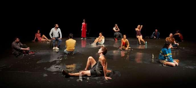 «Il pourra toujours dire que c'est pour l'amour du prophète», une création de Gurshad Shaheman au Festival d'Avignon.