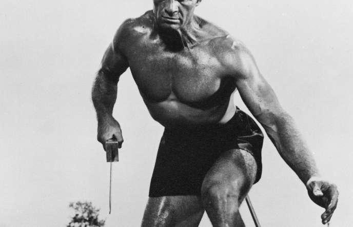 Gordon Mitchell dans « La Colère d'Achille», de Mario Girolami (1962). Dans l'Antiquité grecque, le courage est «celui que les dieux d'Homère insufflent à Achille (…), un courage dont on n'est pas responsable», explique Gaëlle Jeanmart.