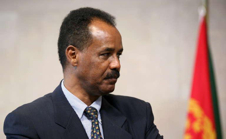 Le président érythréen Isaias Afwerki, à Bruxelles, en mai 2007.