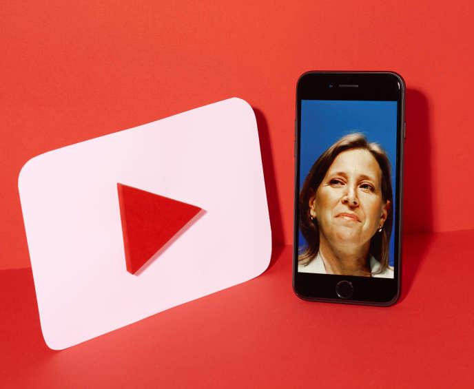 Susan Wojcicki,patronne de la plate-forme YouTube.
