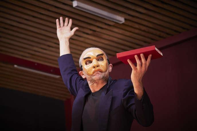Didier Galas dans« Ahmed revient», un monologue écrit par Alain Badiou.