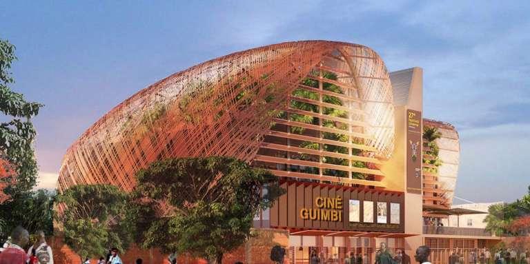 Maquette du projet architectural du nouveau Ciné Guimbi de Bobo-Dioulasso, qui doit ouvrir en 2019.