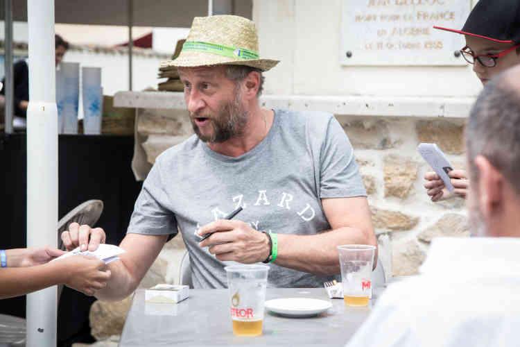 Cette année, l'acteur et humoriste belge Benoît Poelvoorde est le parrain du festival.