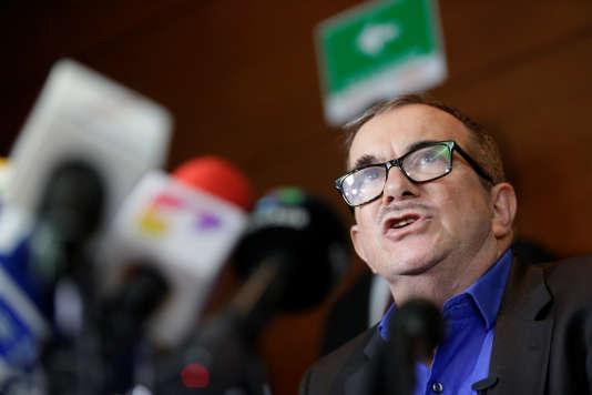 Rodrigo Londono, au tribunal de Bogota, vendredi 13 juillet.