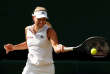 Tennis - Wimbledon - All England Lawn Tennis and Croquet Club, London, Britain - July 14, 2018  Germany's Angelique Kerber in action during the women's singles final against Serena Williams of the U.S.   REUTERS/Andrew Boyers