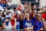 Les Bleus menaient 2-1 face à la Croatie lors de la première mi-temps de la finale de la Coupe du monde 2018.