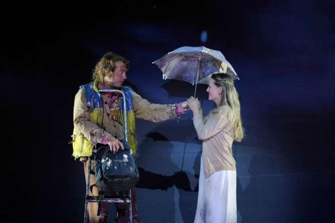 «La Flûte enchantée» présentée au Festival d'Aix-en-Provence.