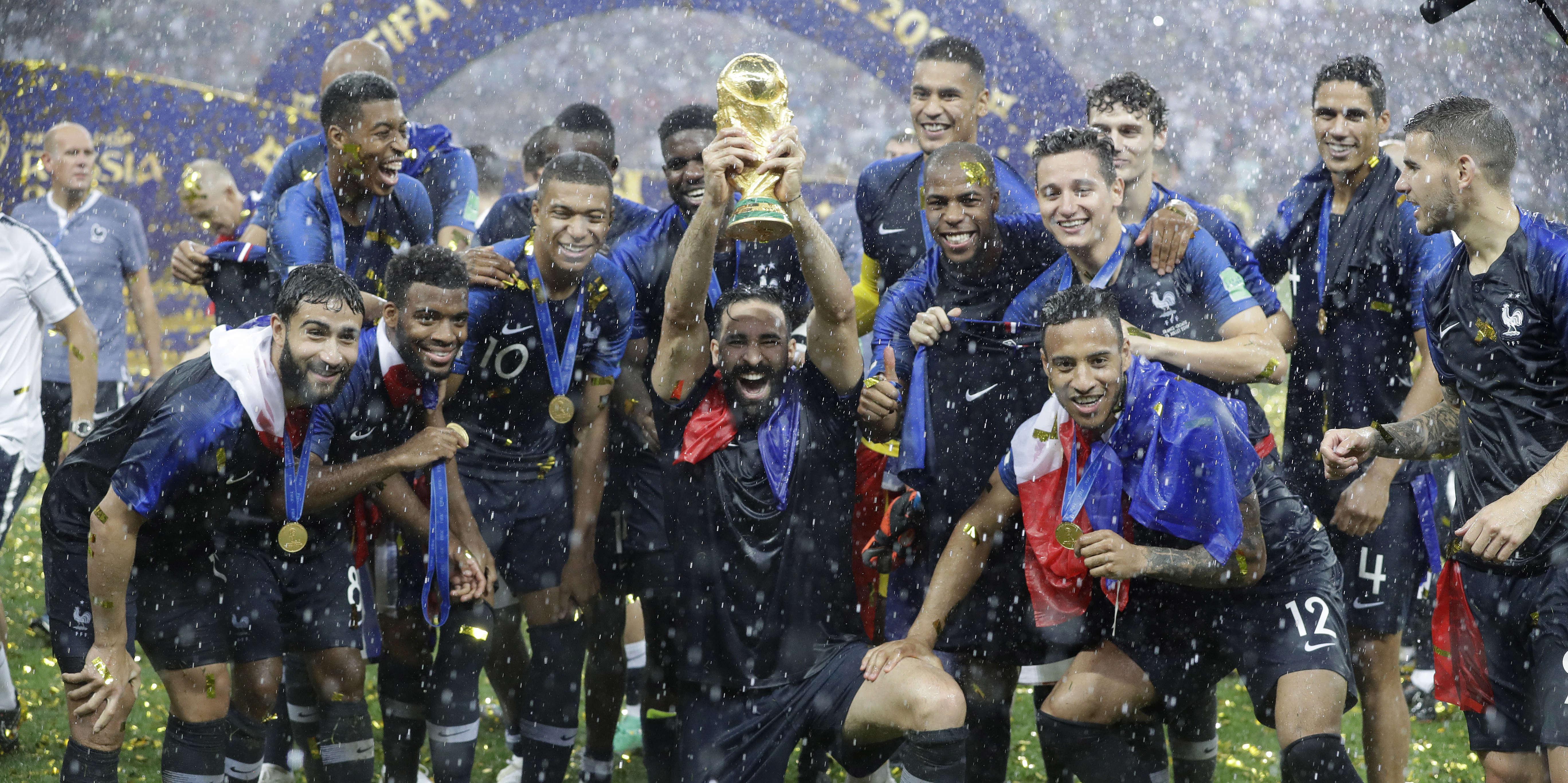 France croatie revivez la victoire de l quipe de france dans la coupe du monde 2018 - Coupe de france l equipe ...
