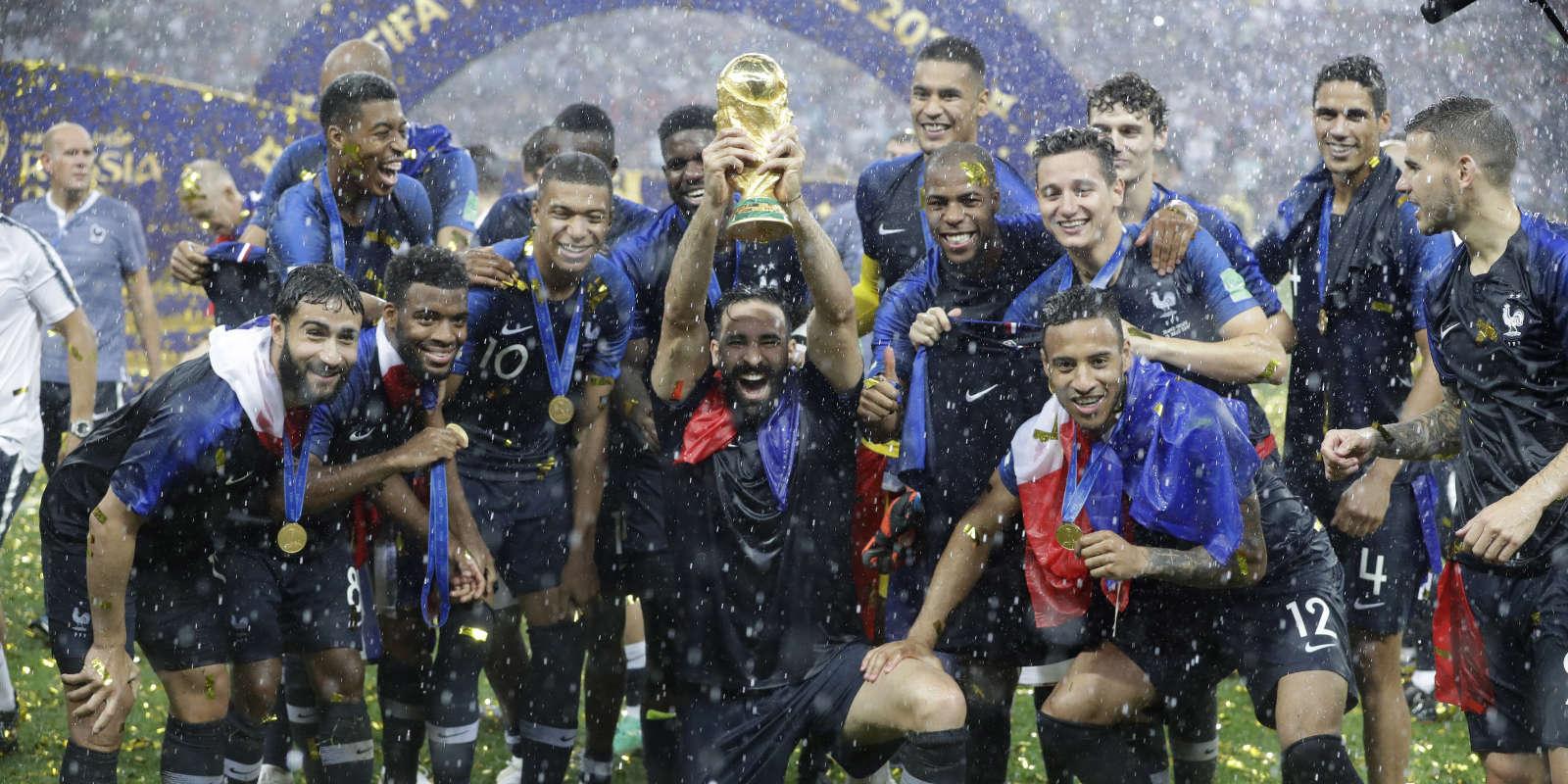 France Croatie Revivez La Victoire De Léquipe De France