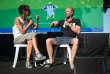 Sonia Devillers débat avecBenoit Poolvoerde, parrain du Festival de Couthures 2018.