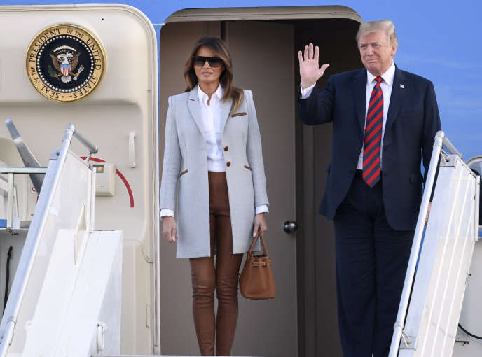 Donald Trump arrive en Finlande le 15 juillet.
