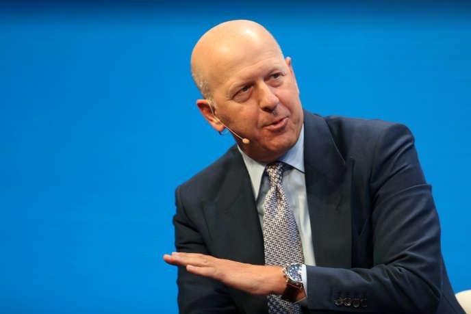David Solomon, qui succédera à Lloyd Blankfein à la tête de Goldman Sachs, à Beverly Hills en Californie, en mai 2017.