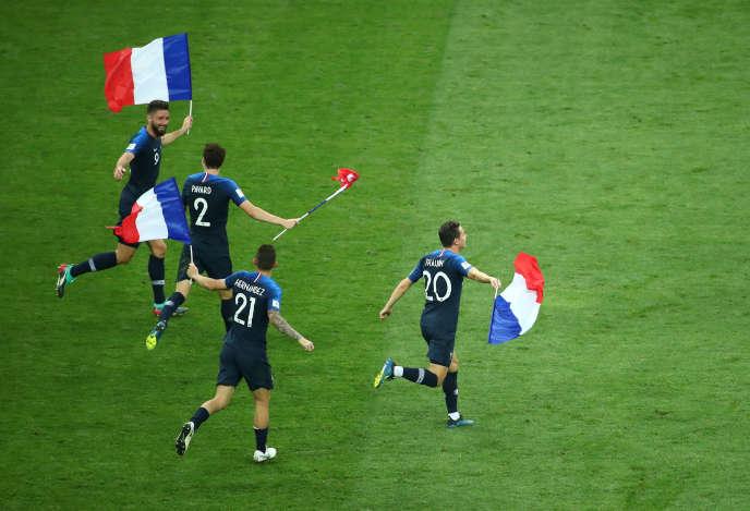 Coupe Du Monde 2018 Et La France Est Devenue Un Pays De Football