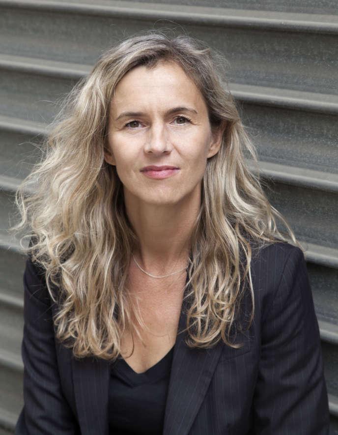 L'écrivaine Delphine de Vigan, en 2011.