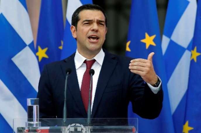 Alexis Tsipras, premier ministre grec, le 22 juin 2018.