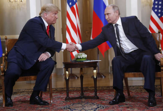 Vladimir Poutine domine la rencontre d'Helsinki face à Donald Trump