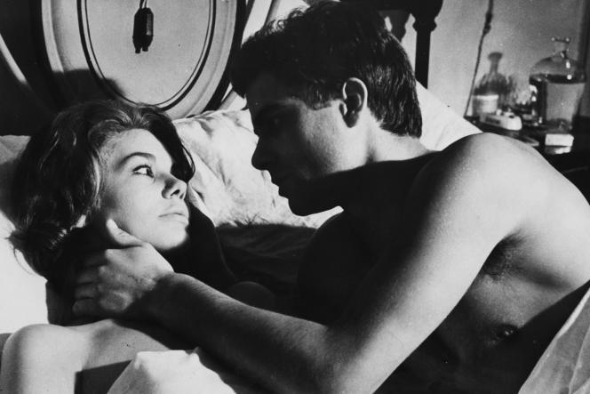 Laura (Giorgia Moll) et Franco (Nino Castelnuovo) dans «Laura nue» (1961), de Nicolo Ferrari.