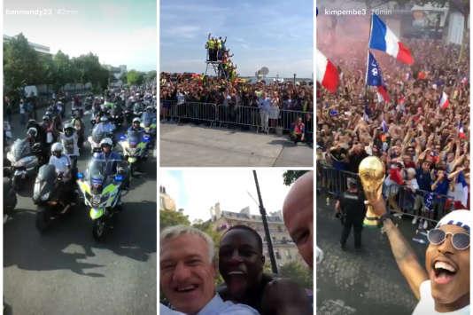 Les Bleus acclamés sur les Champs-Elysées lors d'un retour triomphal en France