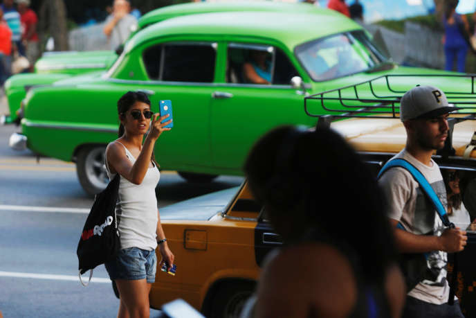 A La Havane (Cuba), le 11 juillet.