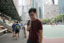 Andy Chan à Hongkong, le 17 juillet.