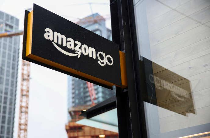 Au siège d'Amazon, à Seattle, en janvier 2018.