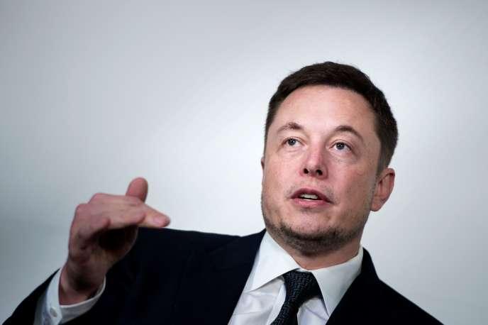 Elon Musk à Washington (Etats-Unis), en juillet 2017.