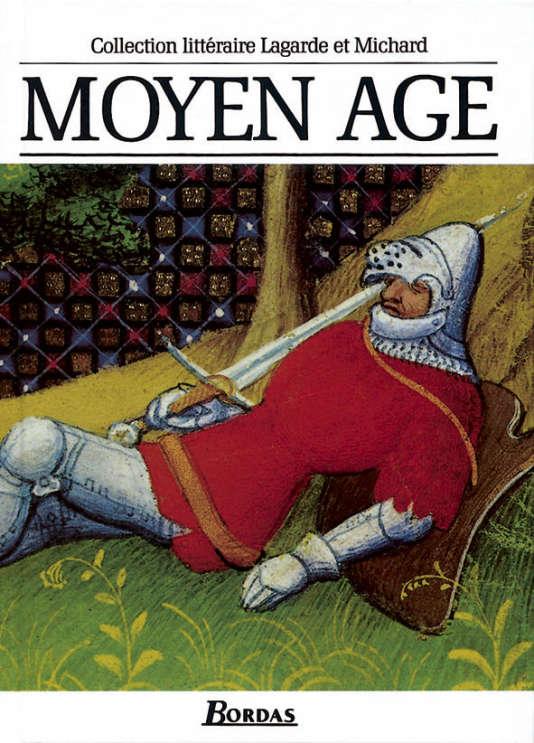 Couverture du livre de Lagarde et Michard sur le Moyen Age