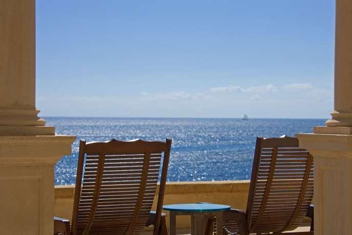 Vue sur la mer à Palma de Majorque, dans les îles Baléares.