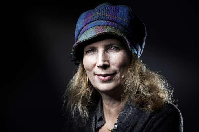 L'écrivaine française Catherine Cusset à Paris, le 24 octobre 2016.