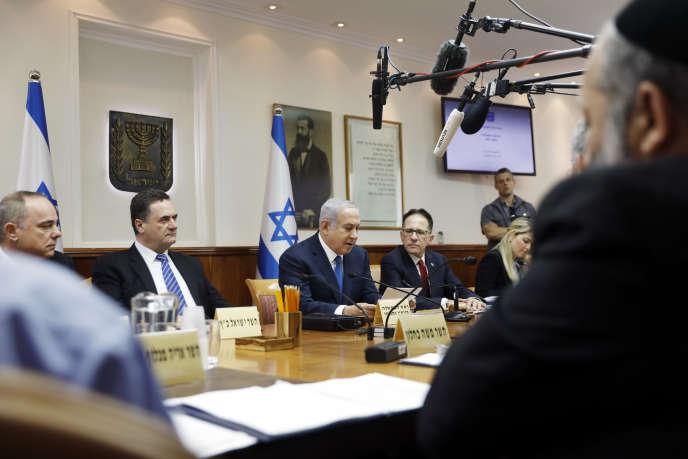 Le premier ministre israélien Benyamin Nétanyahou à Jérusalem, le 15 juillet.