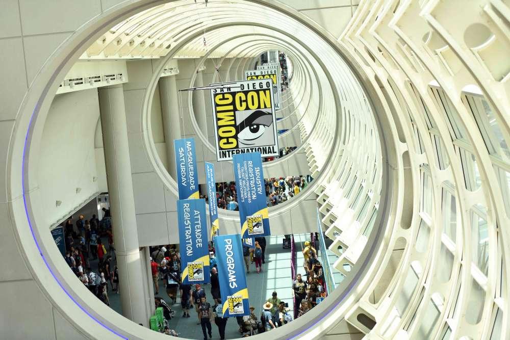 Le Comic-Con se poursuit jusqu'au dimanche 22 juillet.