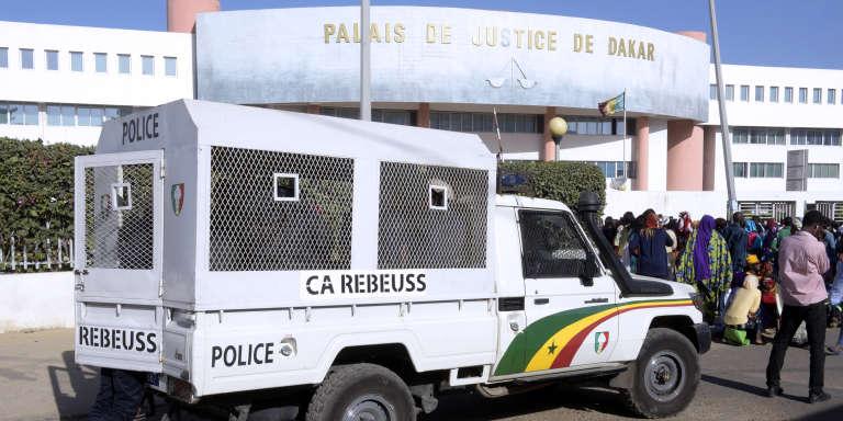 Le palais de justice de Dakar, en décembre 2017.
