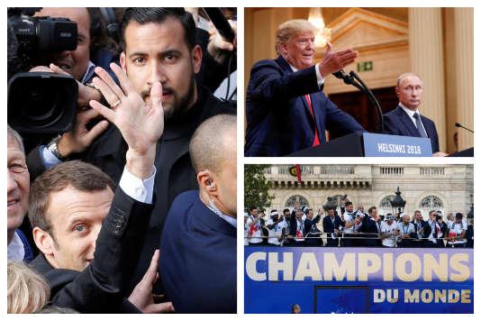 «Affaire Benalla», Trump et les Bleus. L'actualité à retenir de la semaine.