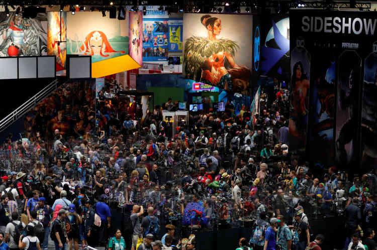 Plus de 130 000 visiteurs sont attendus pour l'édition 2018 du Comic-Con à San Diego.