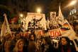 Manifestation contre la corruption du système judiciaire, jeudi 19 juillet à Lima.