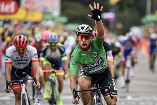 Peter Sagan a remporté la 13e étape du Tour de France 2018.