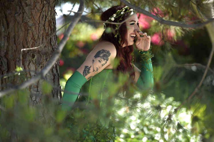 Poison Ivy, un des personnages du vaste univers de Batman.