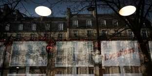 Une agence immobilière à Paris, en décembre 2017.