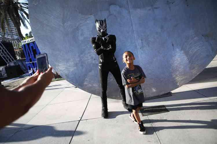 Le personnage de Black Panther a volé la vedette cette année au cinéma. Il est devenu en quelques jours l'un des super-héros les plus« bankables » de l'histoire d'Hollywood.
