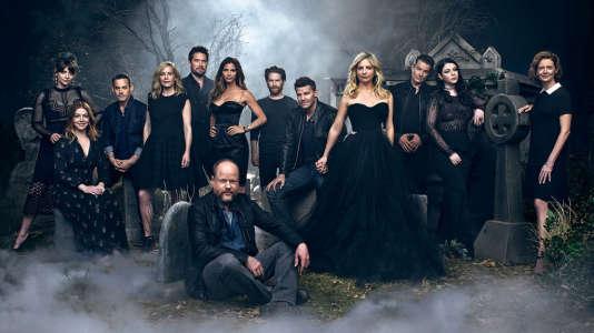 Le casting originel de «Buffy contre les vampires», réuni pour les vingt ans de la série en 2017.