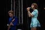 L'Impératrice sur la scène de Biarritz en été, vendredi 20 juillet 2018.