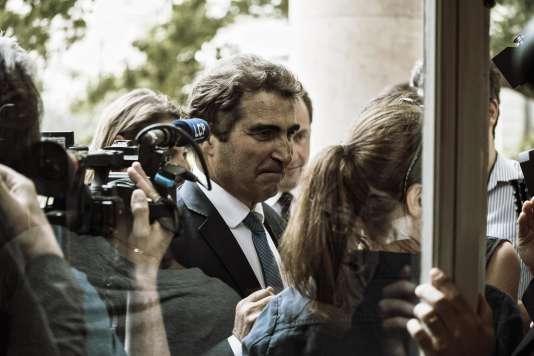 Le président du groupe Les Républicains à l'Assemblée nationale, Christian Jacob, le20juillet.