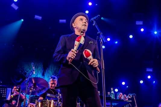 Rubén Blades le 15 juillet 2018 au North Sea Jazz Festival (Rotterdam)