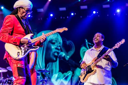 Nile Rodgers & Chic en concert le 14 juillet 2018 au North Sea Jazz Festival (Rotterdam)