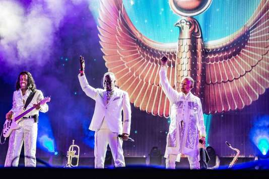 Earth, Wind & Fire en concert le 14 juillet 2018 au North Sea Jazz Festival (Rotterdam)
