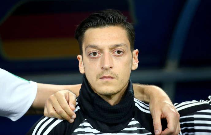 Le joueur allemand d'origine turque,Mesut Özil, 29 ans.