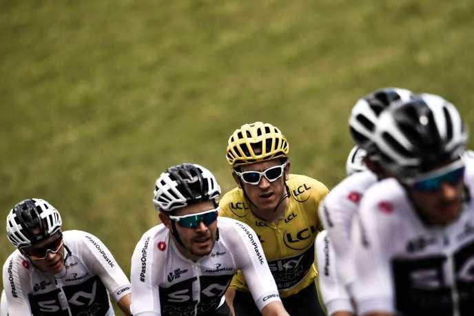 L'équipe britannique s'apprête à remporter son sixième Tour de France en sept ans.
