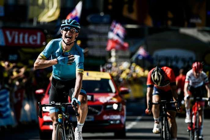 Magnus Cort Nielsen a remporté sa première victoire sur le Tour de France, dimanche 22 juillet, à Carcassonne.
